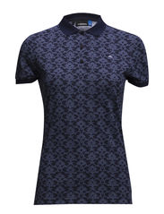 W Paula Printed Lux Jersey - Navy/Purple