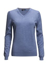 W Amaya True Merino - Clear Blue