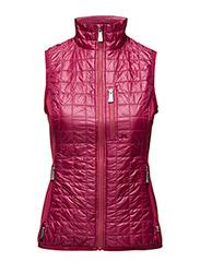 W Bona Hybrid Vest Pertex Q - DK PINK/PURPLE