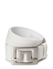 Slater White Leather - White