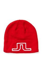 Logo Hat Wool Blend - Red Intense