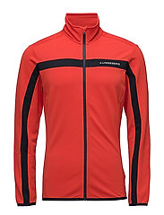 M Jarvis Jkt Fields. MD - RACING RED