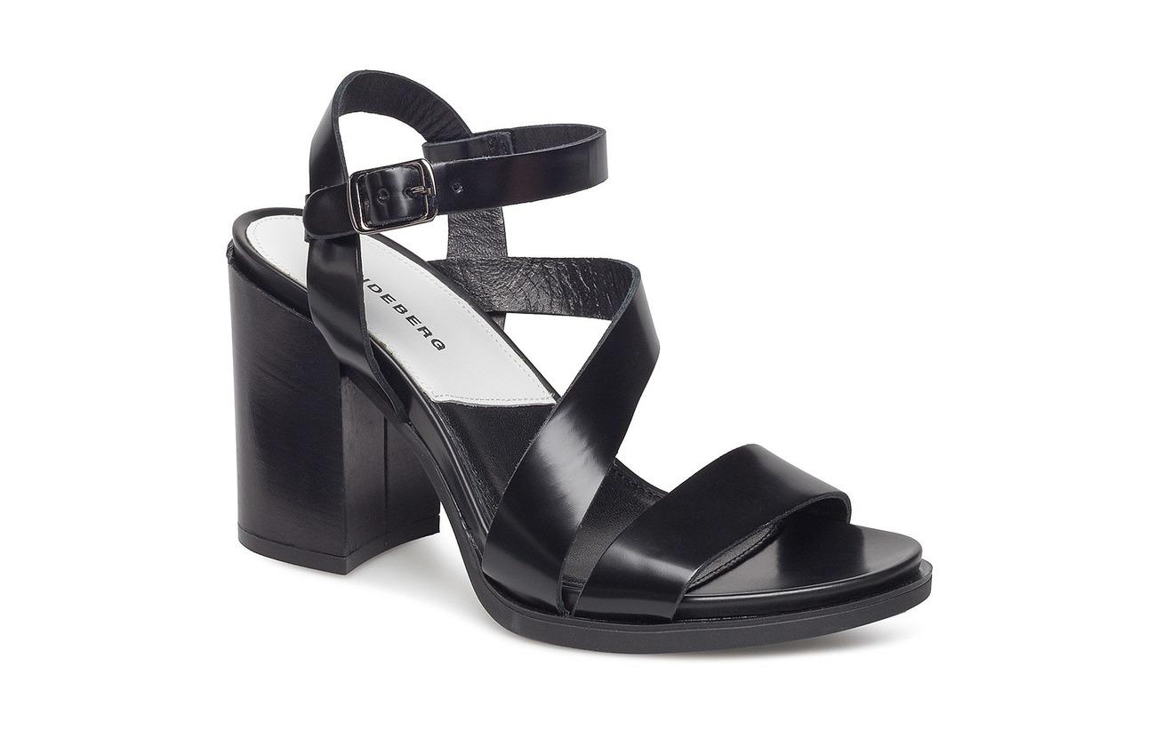 J.LINDEBERG BLOCK HEEL HIGH - High heeled sandals - black