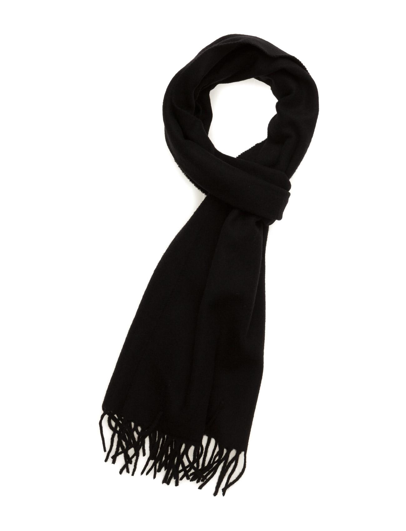 Solido Scots Wool J. Lindeberg Halstørklæder til Herrer i Sort