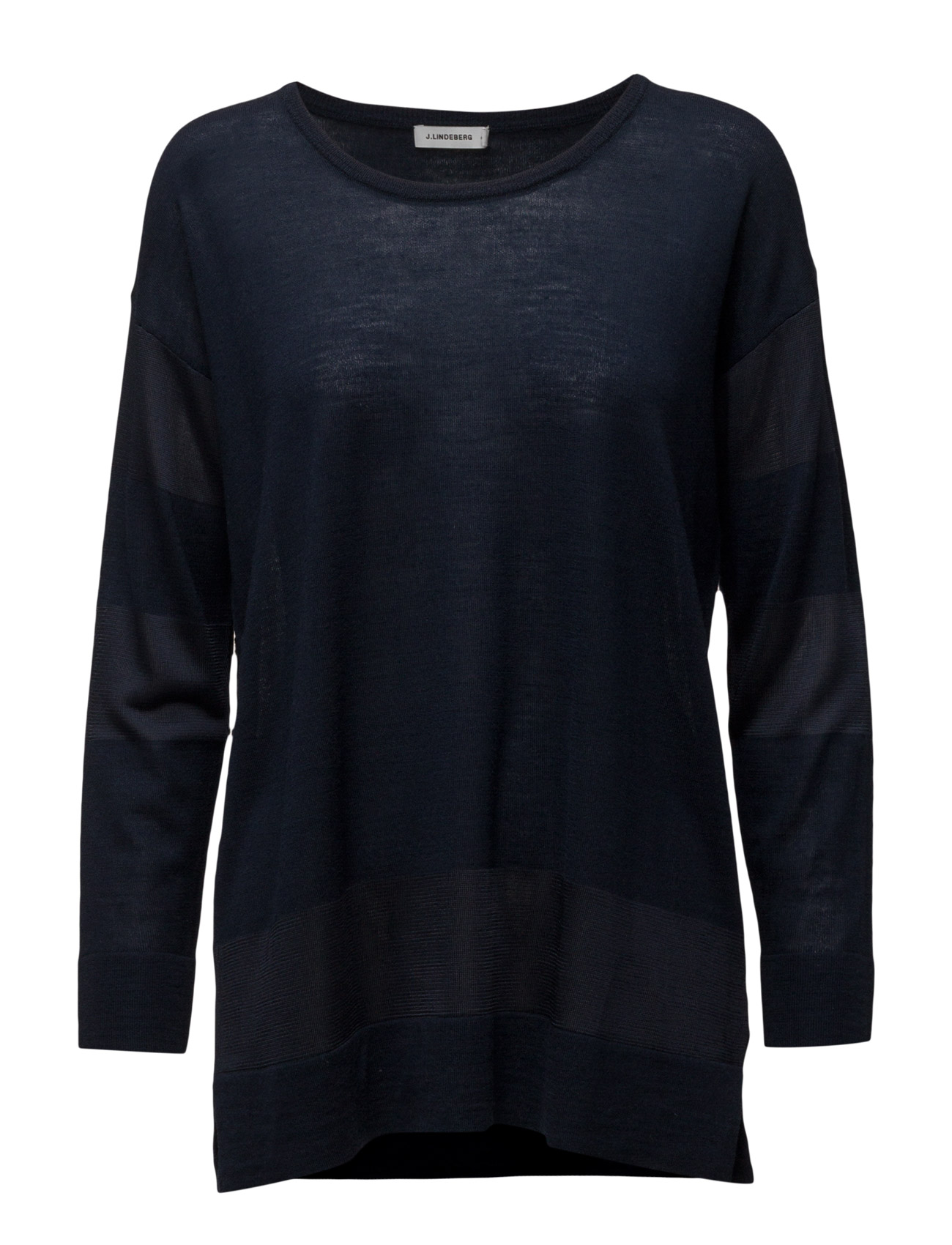 Melly Shiny Mix J. Lindeberg Sweatshirts til Damer i Navy blå
