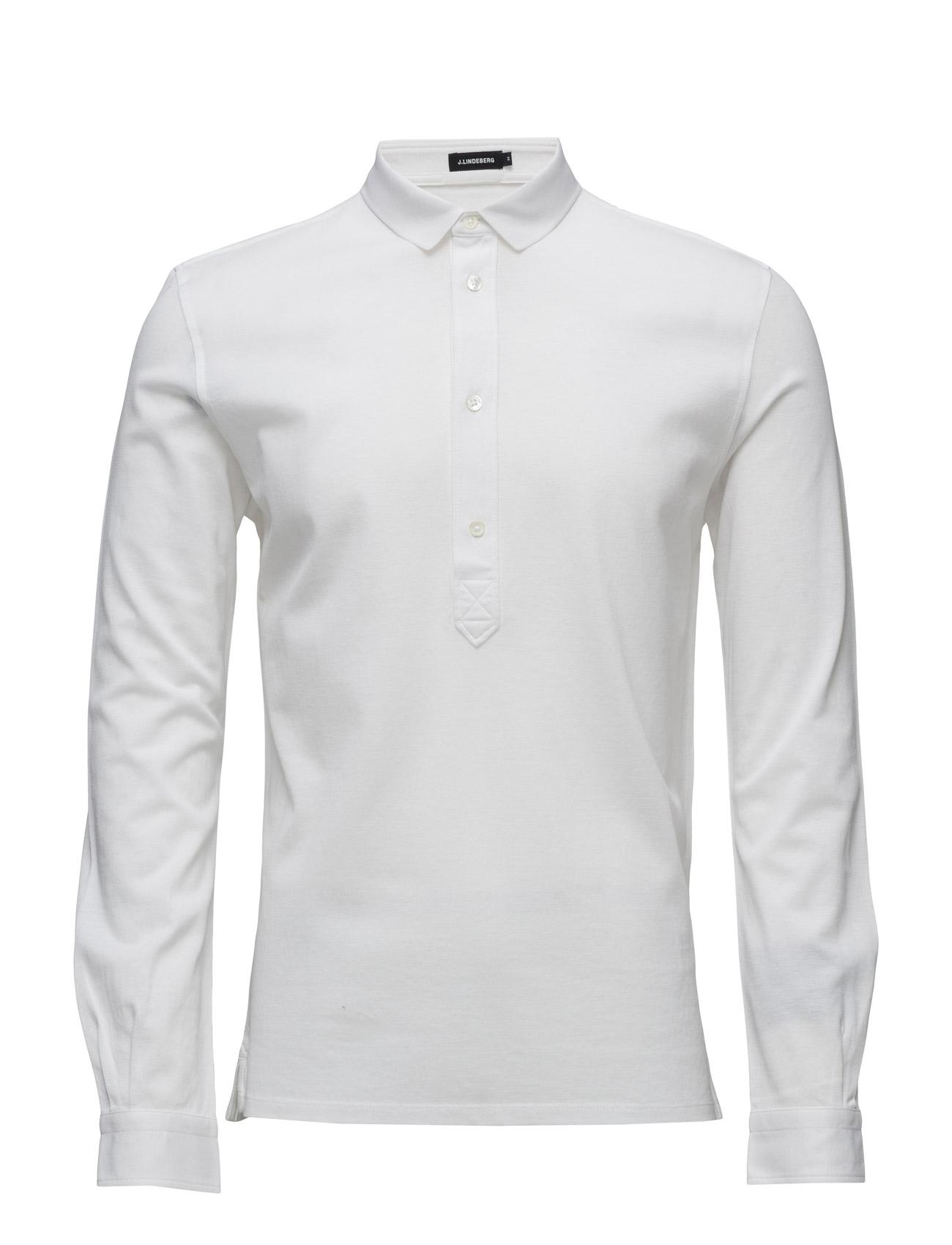 Conny Lux Pique J. Lindeberg Polo t-shirts til Mænd i Off White