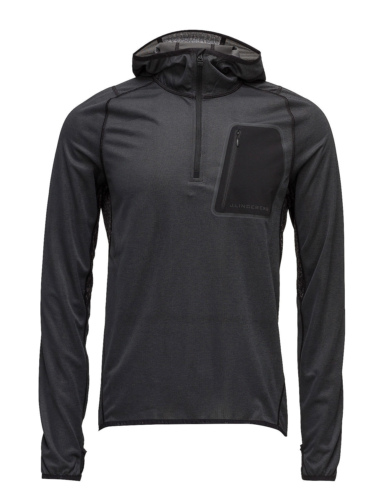 M Running Hoodie Elements Jer. J. Lindeberg Sports sweatshirts til Herrer i