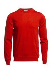 Lyle True Merino Knit - Red/Orange