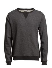 Tyrell Easy Sweat - Black Melange