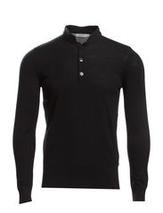 Henri Merino Knit - Black