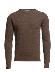 Collin Detail Knit - Hazel Melange