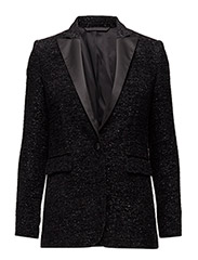 Tiffany Metallic Lux Wool - Black