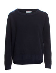 Merci Plated Knit - Dk Navy