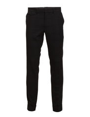 Grant Strap Dk Wool Check - Black