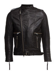 Tyrone Sleek Leather - Black