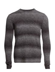 Nash Degrade Knit - Grey Melange