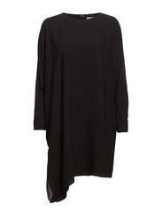 Emmy Chiffon Drape - Black