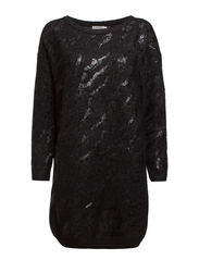 Maxine Animal Sequins - Black