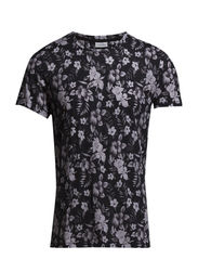 Sev C Floral Light Slub - Black