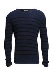 Franck Crepe Stripe - Blue