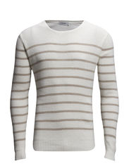 Franck Crepe Stripe - Off White