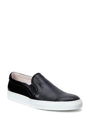 Slip-On Sneaker Italian Calf - Black
