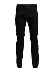 Jay Satin Jean - Black