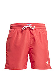Banks Solid Swim - Washed Red