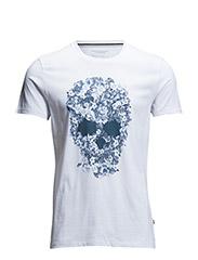 Sev C Skull Wing Jersey - White