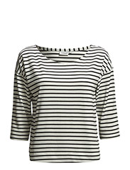 Jean Lyocell Stripe - Black