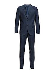 Hopper Suit Dressed Wool - INDIGO BLUE