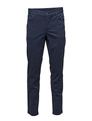 Grant 5-pocket Contrast Twill - MID BLUE