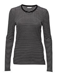 Jeanne Summer Stripe - BLACK