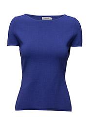 Mildred Sharp Knit - DK BLUE/PURPLE