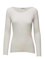 Mena Silky Knit - OFF WHITE
