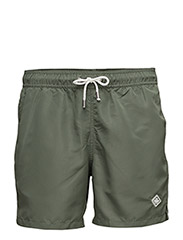 Banks Solid Swim - MILITARY GREEN