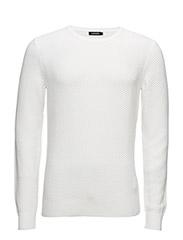 Desmond Micro-Loop Knit - WHITE