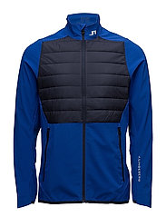 M Hybrid Jacket Mixed Poly - STRONG BLUE