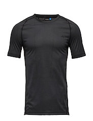 M Active T-Shirt Elements Jer. - BLACK MELANGE