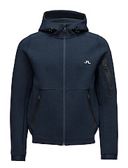 M Athletic Hoodie Tech Sweat - JL NAVY