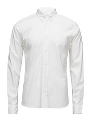 Daniel BD Stretch Oxford - WHITE