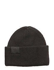 Bag Beanie Spongy Wool - BLACK