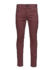 Jay Solid Stretch - DUSTY BURGUNDY