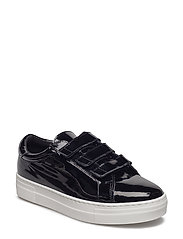 Velcro Sneaker Patent Leather - BLACK
