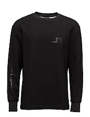 Link Double face jersey - BLACK