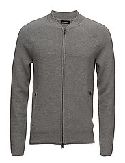 Trust Zip Compact Cotton - GREY MELANGE