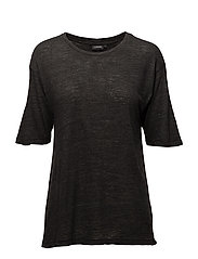 Rhonda Wool Jersey - BLACK MEL