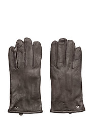 Milo Glove Surface leather - DK BROWN