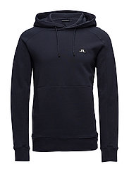 Throw Hood Ring Loop Sweat - JL NAVY