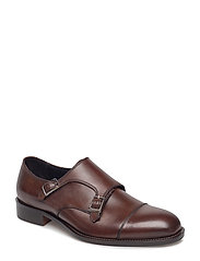 Eng Double Monk It Calf - BROWN